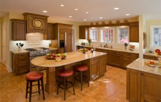 kitchen with natural colors